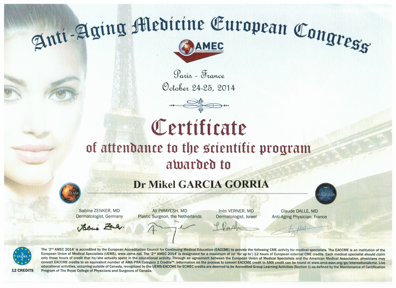 Anti-Aging Medicine European Congress 2014