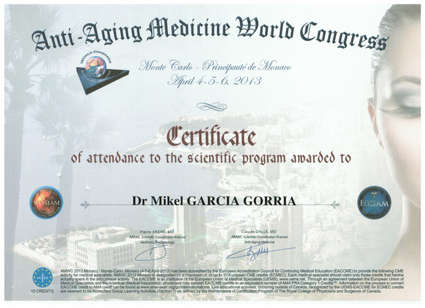 Anti-Aging Medicine World Congress 2013